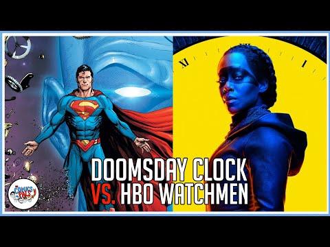 Watchmen Retrospective Doomsday Clock Vs Hbo S Watchmen The