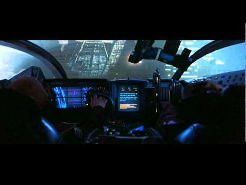 Blade Runner spinner lift-off  ('82 theatrical release version)
