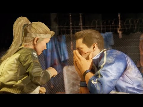Sonya Punches Johnny in the Face - Mortal Kombat 11 (MK11 2019)