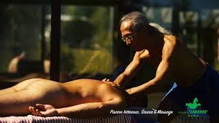 Profitez de la piscine intérieur, du sauna et de massages au camping Laborde