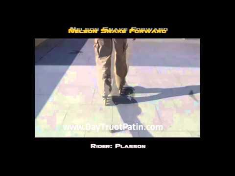 Slalom Tricks - Bài 3 - Kỹ thuật trượt patin lượn cốc Nelson snake forward - www.DayTruotPatin.com