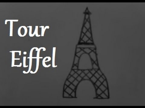 Draw Me The Eiffel Tower Youtube