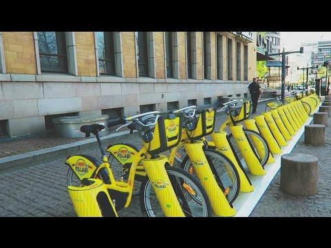 The new Helsinki city bikes