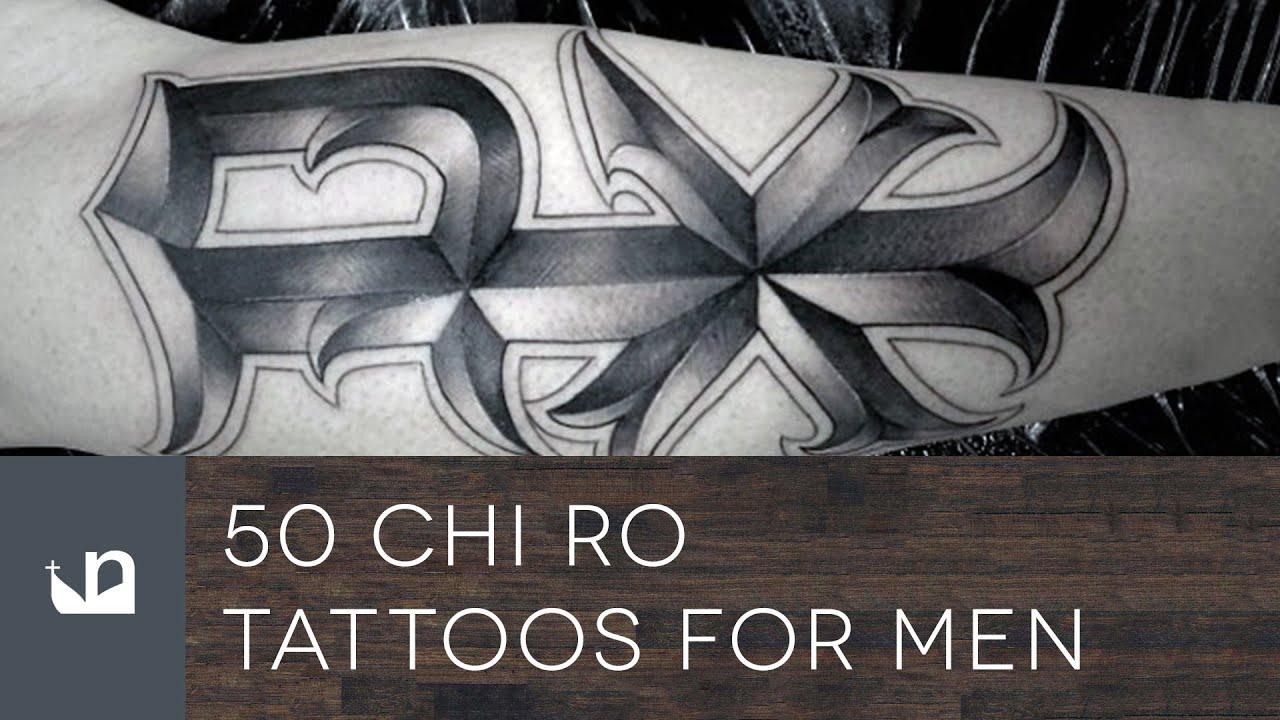 50 Chi Ro Tattoos For Men Youtube