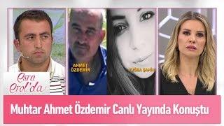 Muhtar Ahmet Özdemir canlı yayında konuştu - Esra Erol'da 10 Mayıs 2019