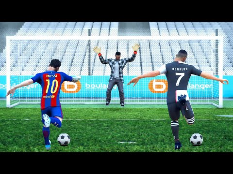 PENALTY LASALLE vs RONALDO vs MESSI (GTA 5 FOOTBALL)