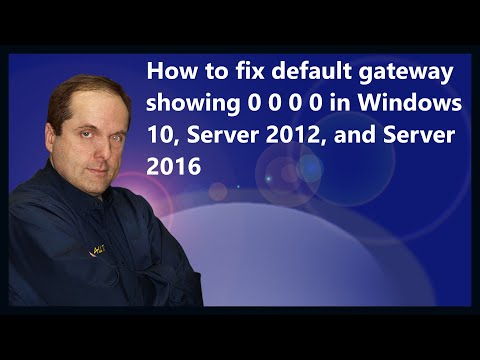 FIX: Default Gateway is not available - YouTube