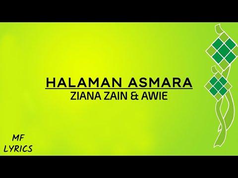 Ziana Zain & Awie - Halaman Asmara (Lirik)