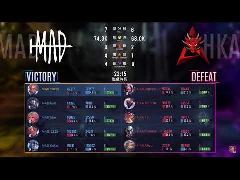 HKA vs MAD [Tuần 3 - Ngày 1] | GCS Mùa Xuân 2020
