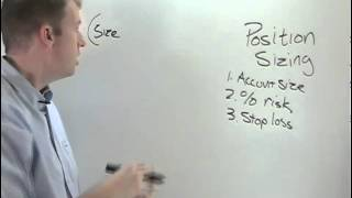 Lesson 5 - Position sizing