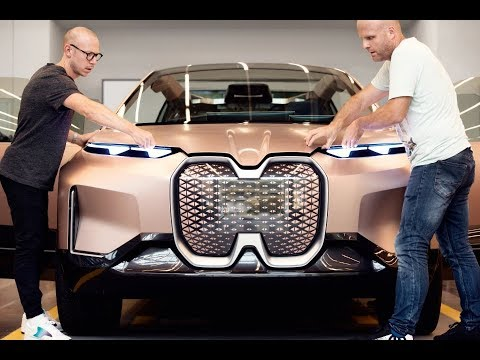 BMW Vision iNEXT. Making-of Film.