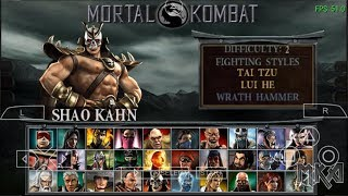 Mortal Kombat Unchained (iOS 11.3 PPSSPP) Arcade Playthrough