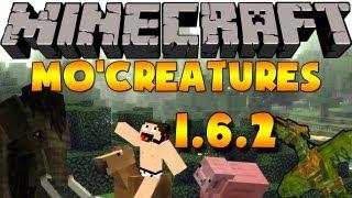 Minecraft mods: Como Instalar y Descargar Mo'Creatures Mod para minecraft 1.6.2