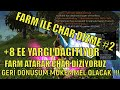 +14.5GB FARM İLE CHAR DİZME BÖLÜM #2 - KNİGHT ONLİNE - FARM - UPGRADE - PK - DRAKİ - PAZAR