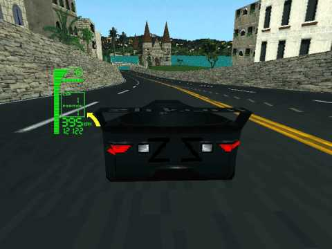 Dos Game Xcar Experimental Racing Youtube