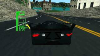 DOS Game: XCar - Experimental Racing