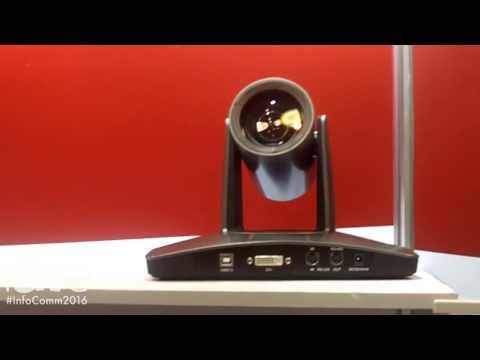 InfoComm 2016: iSmart Video Highlights USB2.0 HD PTZ Camera