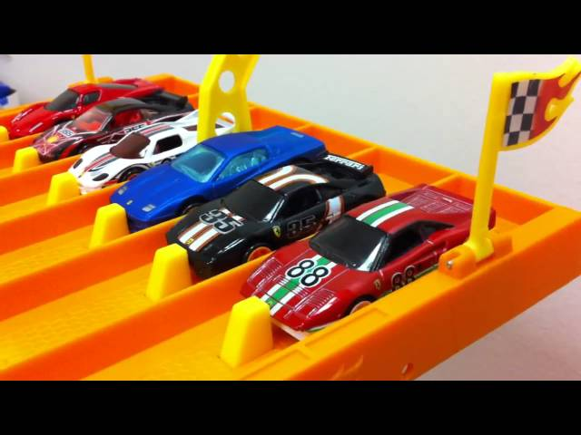HOT WHEELS 6 LANE RACE TRACK - MrSenCTVTs Fun Time