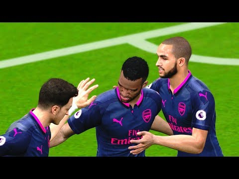 Watford vs Arsenal 14 October 2017 Gameplay