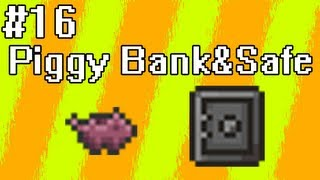 Poradnik Terraria [16] - Piggy Bank i Safe, czyli bezpieczne pojemniki.