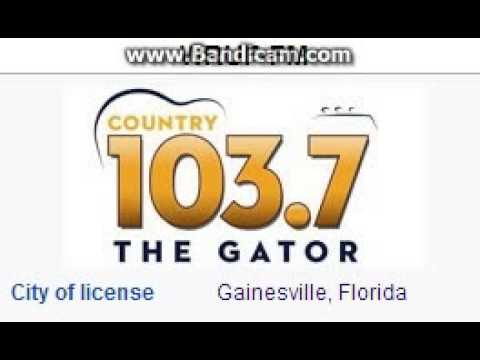 WRUF-FM 103.7 The Gator Gainesville, FL TOTH ID at 2:00 p.m. 6/7/2014