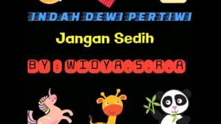Lirik lagu jangan sedih-IDP(dgn stiker stiker lucu)