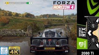 Forza Horizon 4 Extreme Settings 4K | RTX 2080 Ti | i7 8700K 5.3GHz