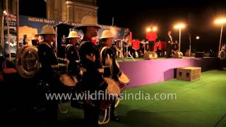 Indo-British naval bands bring military nostalgia to the fore at India Gate