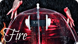 ASMR Umbrella 2 ☔️ NO TALKING 🔥 Tapping, Brushing, Fire, Rain, Water Spritzing, Layered Sounds, MORE