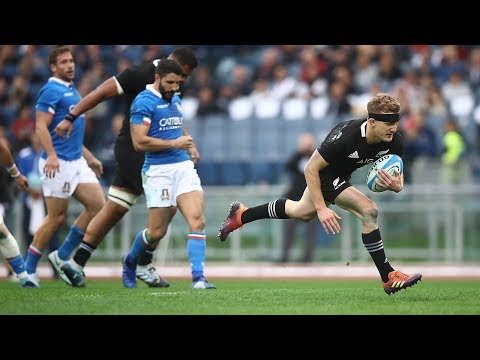 HIGHLIGHTS: All Blacks vs Italy – 2018