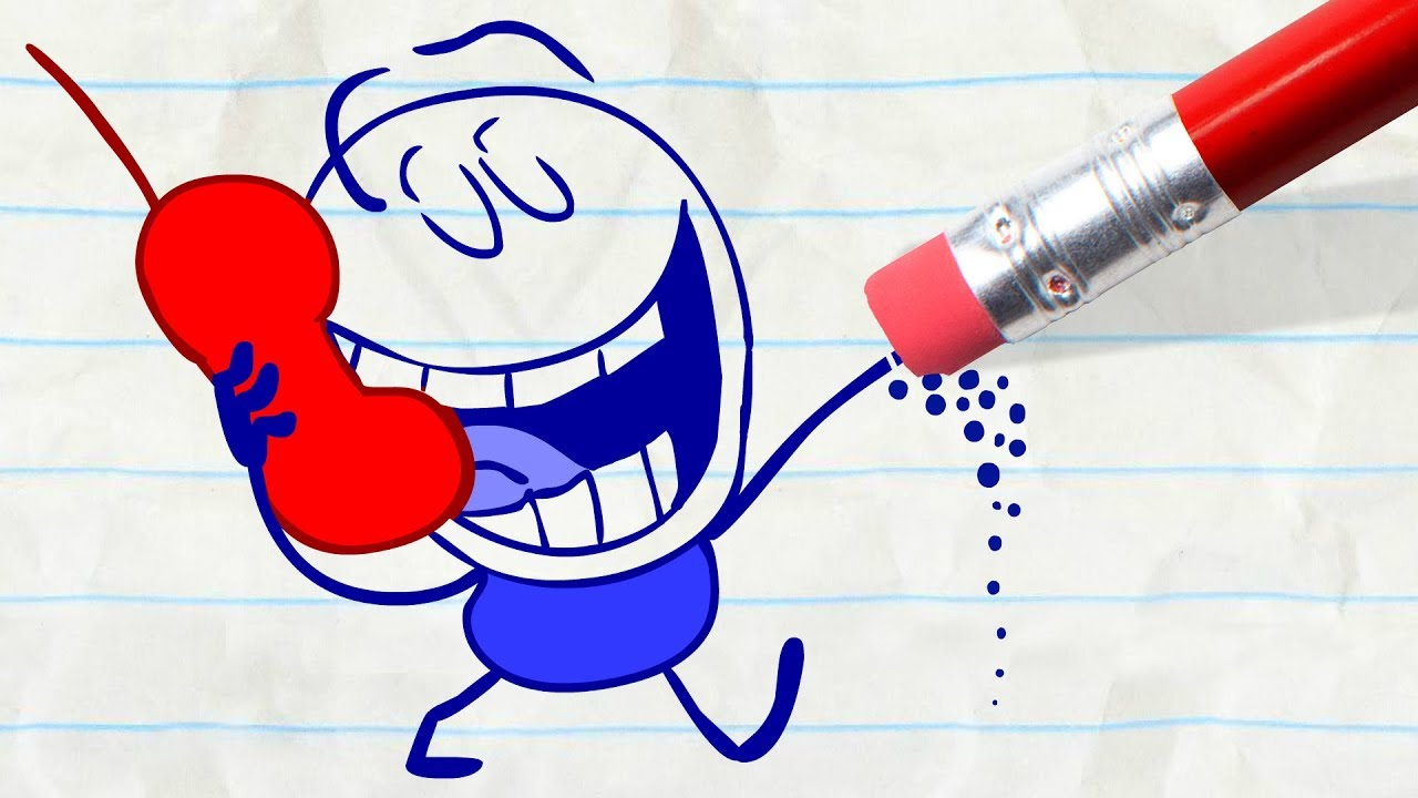 Download Pencilmate Glued to his Cell Phone! -in- CALL OR NOTHING & More Pencilmation Cartoons