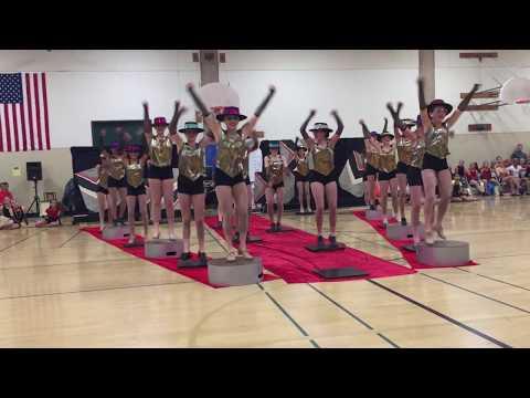 Castillero Middle School Dance Spring Show 2017 - opening