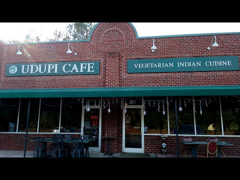 NCFoodie.com visits Udupi Cafe Vegetarian Indian Restaurant NC Foodie at 590 E Chatham Street Cary