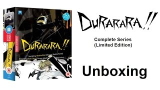 Unboxing: Durarara - The Complete Series (Limited Edition Blu-ray) [HD]