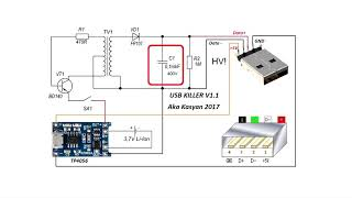 USB KILLER svoimi rukami spaces ru