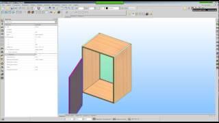 Настройка анимации панелей в БАЗИС-Мебельщик