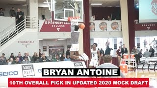 Bryan Antoine: 2019 HoopHall Pregame Workout