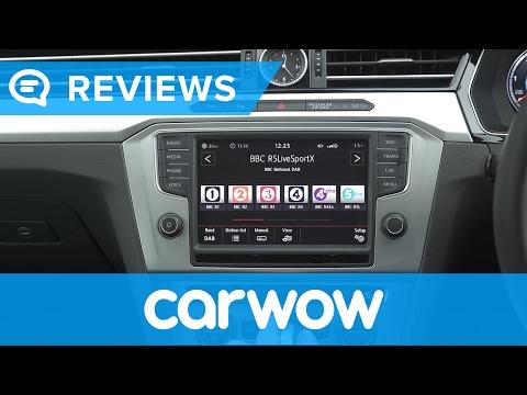 Volkswagen Passat Estate 2017 Discover Navigation Pro infotainment review | Mat Watson Reviews