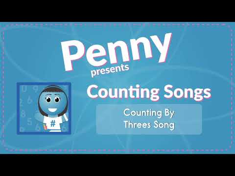 Counting By Threes Song (Audio)