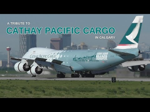 A Tribute to Cathay Pacific Cargo in Calgary | Aviation Music Video