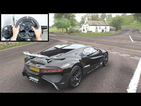 Forza Horizon 4 Bugatti Divo (Logitech G920 Steering Wheel + Paddle Shifter) Gameplay