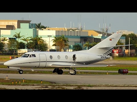 {TrueSound}™ Classic Dassault Falcon 10 Takeoff from Ft. Lauderdale Executive [RWY 9] 4/22/15