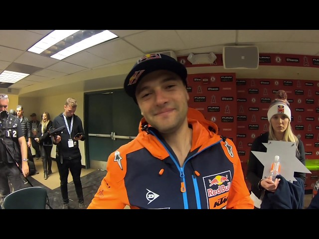Racer X Films: Cooper Webb Anaheim 2 Supercross Post-Race