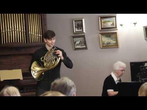 W.A.Mozart Horn Concerto Nr.2 I.Allegro Vasiliy Nosakov