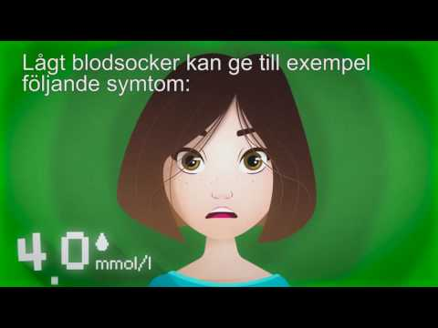 diabetes blodsockerfall symtom