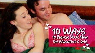 10 Ways to Please Your Man on Valentine