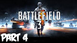 Battlefield 3 Walkthrough Part 4 HD - Going Hunting - (Xbox 360/PS3/PC Gameplay)
