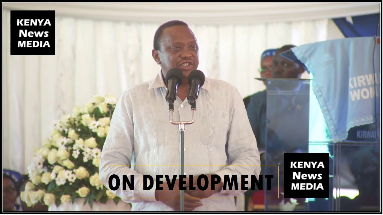 UHURU KENYATTA SPEECH AT MAMA OF PETER KENNETH BURIAL