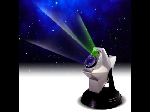 Laser Cosmos Star Light Projector unboxing and review (Awesome)!