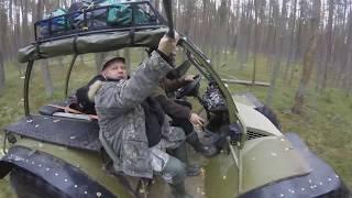 Вездеходный поход Онежские болота 2017